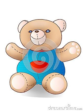 Teddy bear dool