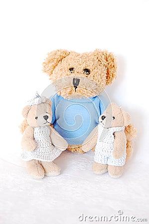 Teddy-bear family