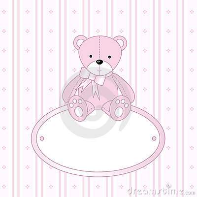Free Teddy Bear For Baby Girl Stock Photo - 4645810
