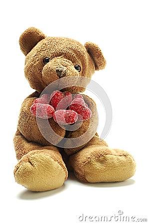 Free Teddy Bear In Love Stock Photo - 1847500