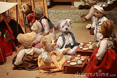 Teddy Bear Museum Editorial Stock Image