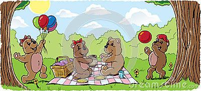 Teddy Bear Picnic Stock Image - Image: 26863061