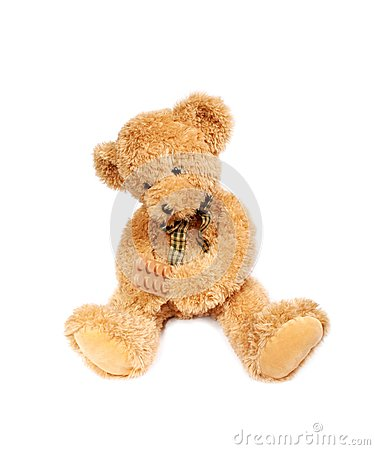Teddy bear with pills