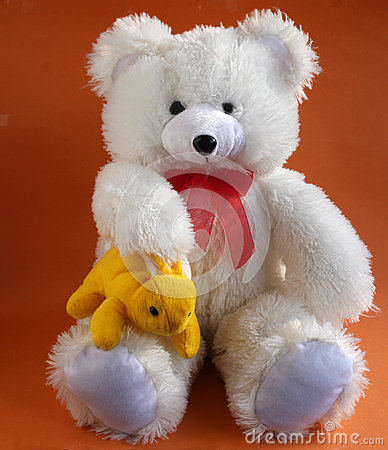 Teddy bear and Rabbit