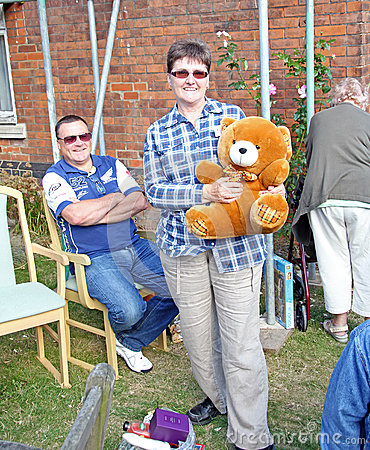 Teddy bear raffle winner Editorial Image