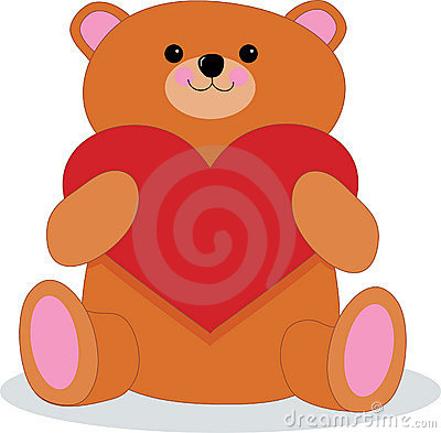 Free Teddy Bear With Heart Royalty Free Stock Photo - 1844745