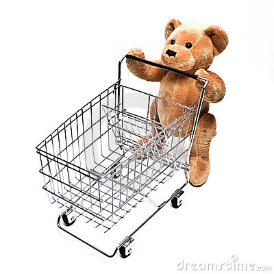 Teddy and Cart