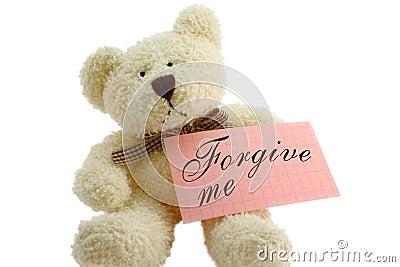 Teddy - forgive me