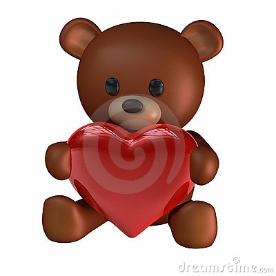 Teddy of Hearts