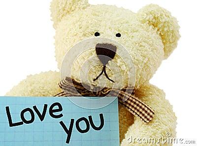 Teddy I love you