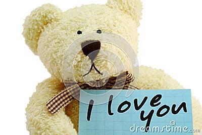 Teddy loving