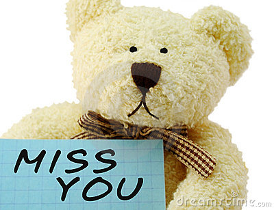 Teddy miss you