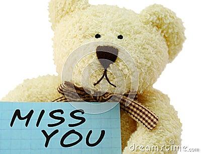 Teddy miss you