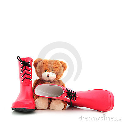 Teddybear with boots