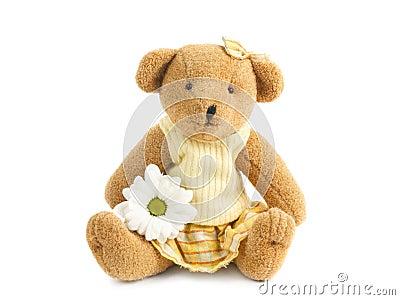 Teddybear girl