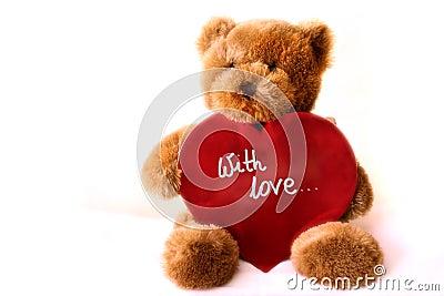 Teddybear - Heart