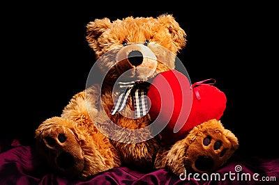Teddybear with heart