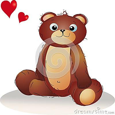 Teddybear in love