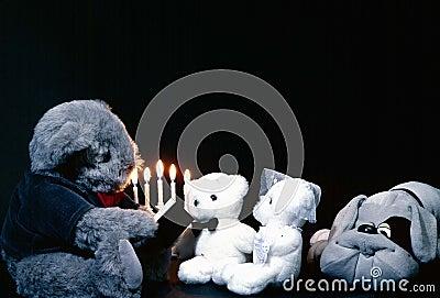 Teddybears getting married