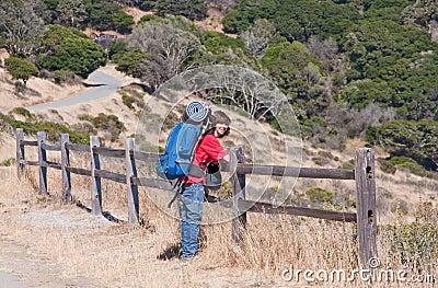 Teen Backpacking