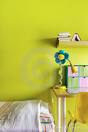 Free Teen Bedroom Royalty Free Stock Photography - 18132807