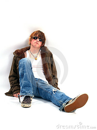 Bad Credit Credit Cards >> Teen Boy With Attitude Stock Image - Image: 2158901