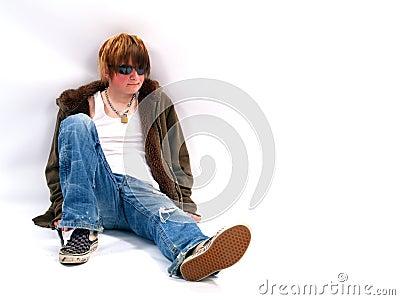 Teen Boy with Attitude