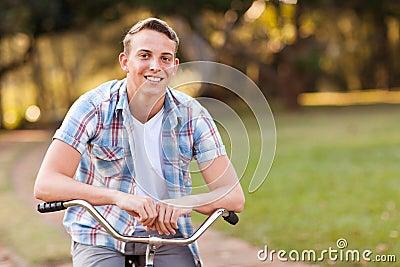 Teen boy bicycle