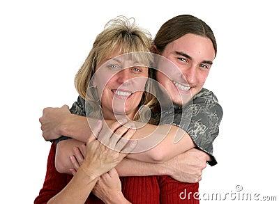 Teen Boy & His Mom