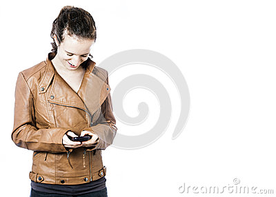 Teen with Cellphone