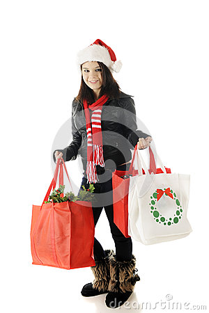 Teen Christmas Shopper