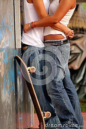 Divertido amor adolescente
