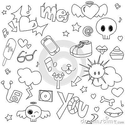 Teen doodle