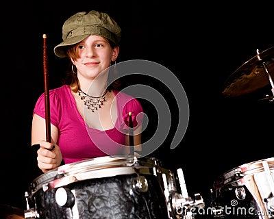 Teen Drumer