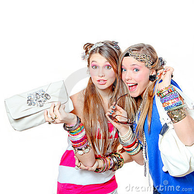 Free Teen Fashion Accessories Stock Images - 18044044