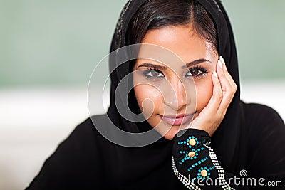 Teen Muslim student
