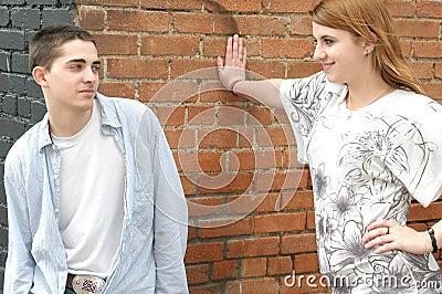 Teen Flirting