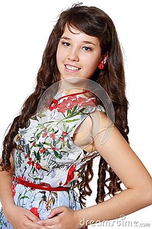 Teen girl beautiful