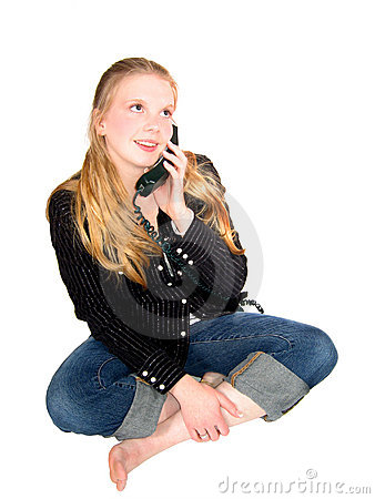 Teen Girl Phone