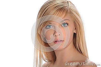 Teen girl s portrait