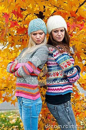Free Teen Girls Having Problems Stock Photos - 21834593