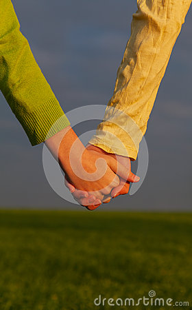 Free Teen Girls Holding Hands Stock Photography - 27762152