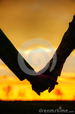 Free Teen Girls Holding Hands Stock Image - 29031111