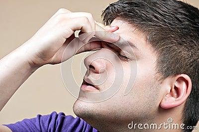 Teen With a Headache