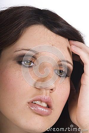 Teen With Headache