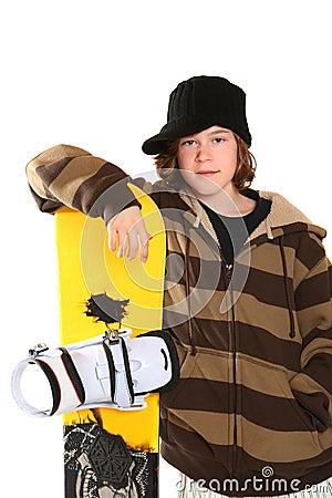 Teen Snowboard 77