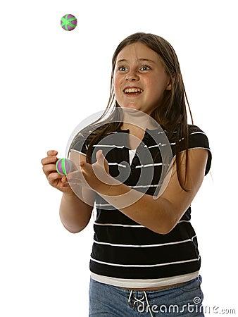 Teen Juggling