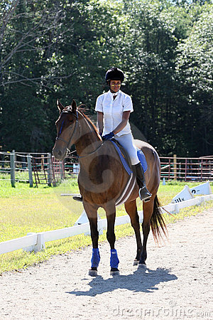 Free Teen On Horseback Royalty Free Stock Images - 6212829