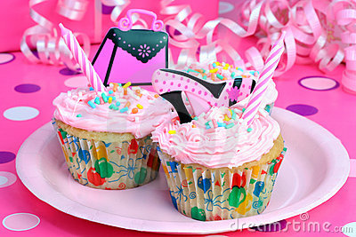 Teen Party Cupcakes