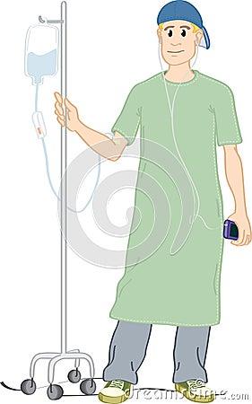 Teen patient.